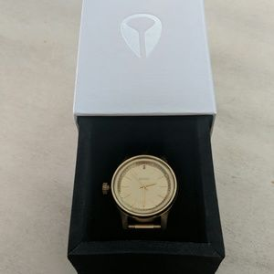 Nixon Facet 38 Watch All Gold